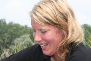 Marijke vertelt zoals altijd vol passie over haar bedrijf.