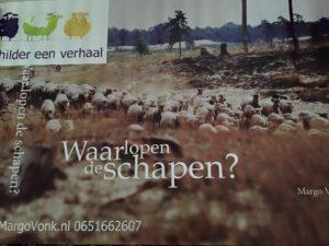 Banner van Waar lopen de schapen?